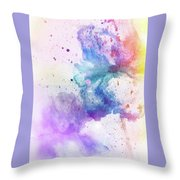 Celebration Of Colors  Throw Pillow