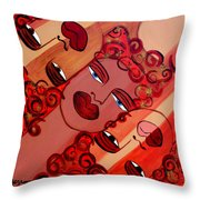 Celebration Of Women Throw Pillow