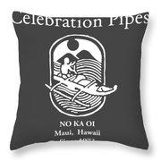 Celebration Pipes  Throw Pillow
