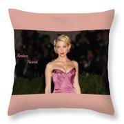 Celebrity Throw Pillow