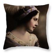 Celeste Aida Throw Pillow