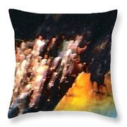 Celestial Applause Throw Pillow