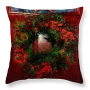 Celestial Christmas Throw Pillow