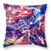 Celestial Crab Throw Pillow