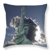 Celestial Crown Throw Pillow