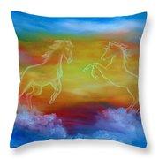 Celestial Dream Throw Pillow