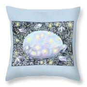Celestial Egg Throw Pillow