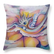 Celestial Eye Throw Pillow