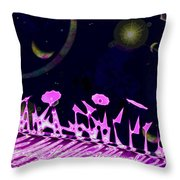 Celestial Garden Throw Pillow