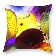 Celestial Glass 1 Throw Pillow