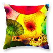 Celestial Glass 2 Throw Pillow