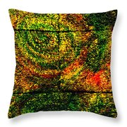 Celestial Grid Throw Pillow
