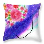 Celestial Her Throw Pillow
