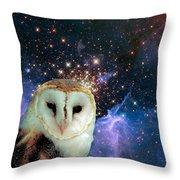 Celestial Nights Throw Pillow