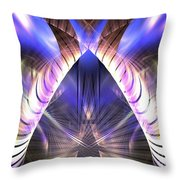 Celestial Portal Throw Pillow
