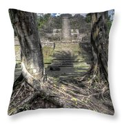 Celestial Roots Throw Pillow