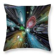 Celestial Vacuum Throw Pillow