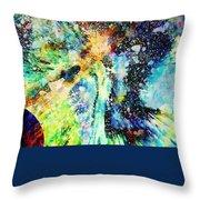 Celestial Xvi Throw Pillow