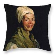 Celestina 1908 Throw Pillow