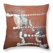 Celia And Brian  - Tile Throw Pillow