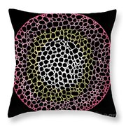 Cell Division Throw Pillow by Andy  Mercer