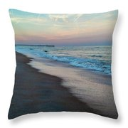 Cell Phones Finest Flagler Throw Pillow by Tyson Kinnison