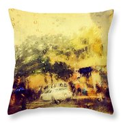Cell Pic Throw Pillow