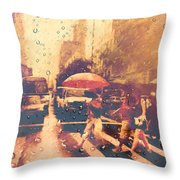 Cell Pic V Throw Pillow