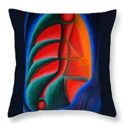 Cell Structure I Throw Pillow