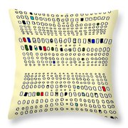 Cells V  Throw Pillow