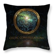 Celtic Constellation Throw Pillow