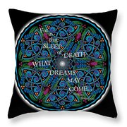 Celtic Dreamcatcher Throw Pillow