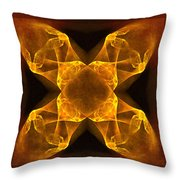 Celtic Gothica Throw Pillow