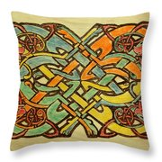 Celtic Knot 1 Throw Pillow