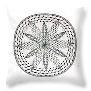 Celtic Knot Mandala Throw Pillow