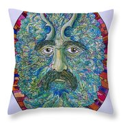 Celtic Man Throw Pillow