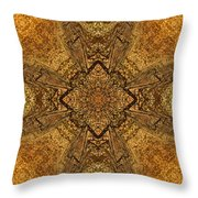 Celtic Mandala Abstract Throw Pillow