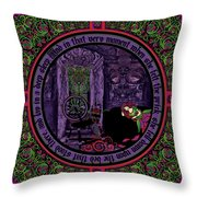 Celtic Sleeping Beauty Part II The Wound Throw Pillow
