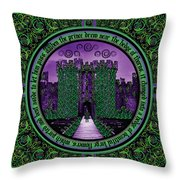 Celtic Sleeping Beauty Part IIi The Journey Throw Pillow