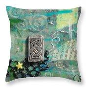 Celtic Tones Throw Pillow
