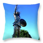 Celtic Warrior Throw Pillow