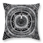 Celtic Wondrous Strange Throw Pillow