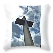 Cement Worship Zoom  Throw Pillow