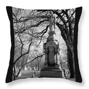 Cemetery 1 Throw Pillow