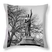 Cemetery 6 Throw Pillow