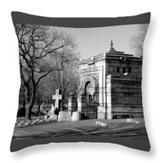 Cemetery 8 Throw Pillow