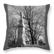 Cemetery 9 Throw Pillow