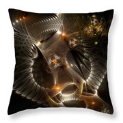 Cenogenesis Throw Pillow