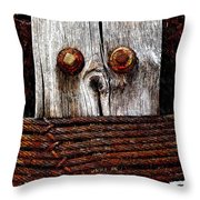 Censorship 2 Throw Pillow
