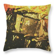 Censorship As A Weapon Throw Pillow